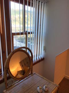 Main bedroom window view.