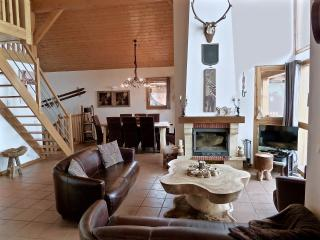 Chateau Doggestein is a charming 8p chalet in the Ski in/Ski out Bellecote Park