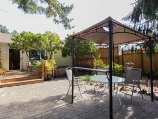 Private Patio, with Eating/Lounging Area and Gas BBQ