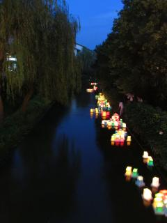 Each lantern represents a good wish made by someone, you can sponsor one for ¥1000