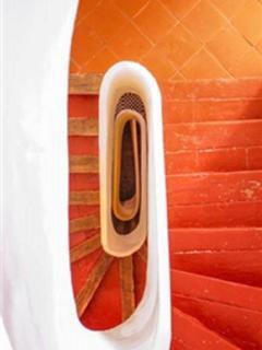 Internal Languedocienne stairwell