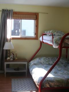 Bedroom #3 Single over Double bunk bed