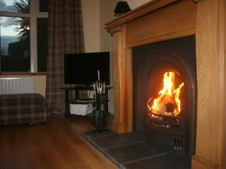 The warm welcome of an open fire - logs supplied