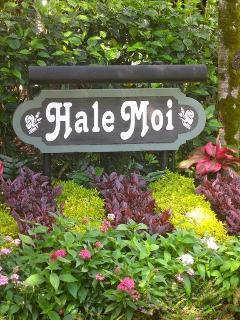 Hale Moi Condo Sign