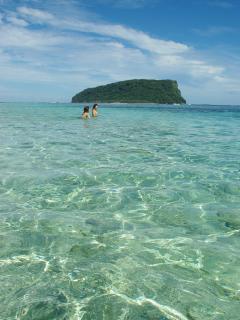 Crystal waters.
