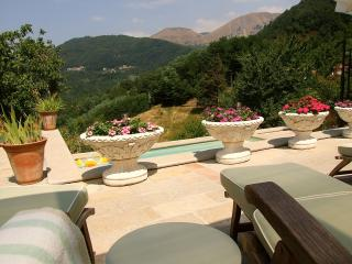 Villa with Private Plunge Pool and Stunning Views, Bagni Di Lucca