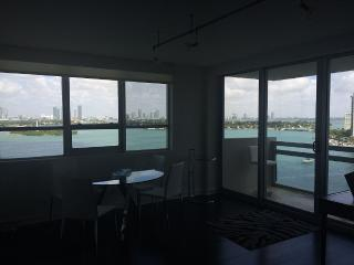 Biscayne Bay & Miami Skyline, Loft Style Apartment