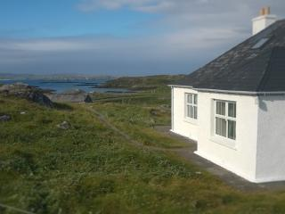 Atlantic View Cottage Isle of Lewis. Sea View WiFi, Great Bernera