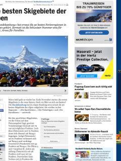 2015: Zermatt is the best ski resort in the Alps.(20 Minuten)