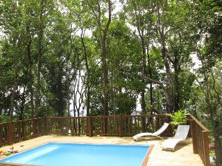 villa 2/4 p foret vue mer,clim, piscine 5mn plage