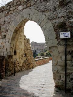 Immagine del centro storico di Savoca
