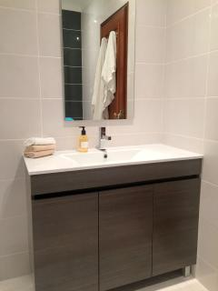 Wash basin in downstairs en-suite