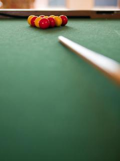Pool, Foosball and X-Box available in games room