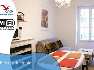 Intramuros, charmant T1 bis 2/4 pers avec WIFI, Saint-Malo