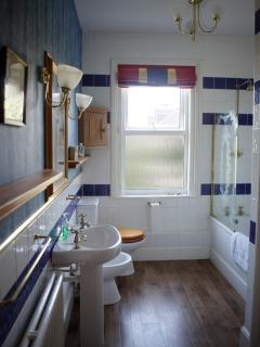 One of four spacious bathrooms