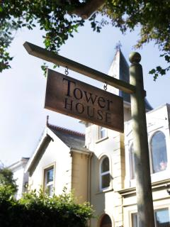Look out for the Tower House sign, houses on the Isle of Wight don't have numbers!