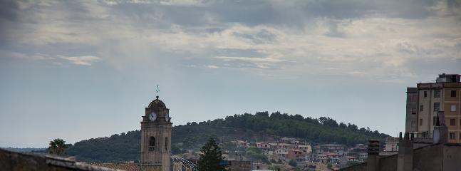 campanile della chiesa vista dal terrazzo