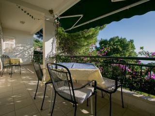 Apartment Stanicic Nr 1.type 2+3,balcony with nice seaview