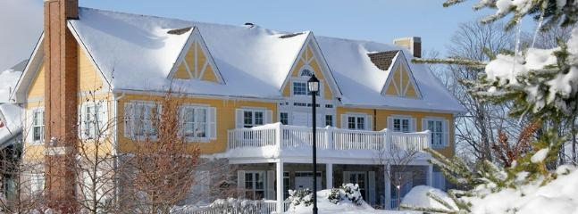 == February 10-17 == Holiday week == Luxury resort == ski lift at door