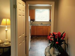 Welcoming foyer to fully equipped kitchen and comfortable living area