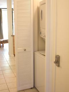 Full-size Washer/ Dryer in Unit