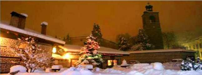 A Winter's night in Bansko Town