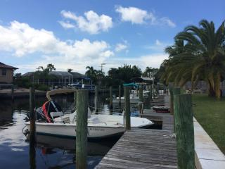Townhome on the Canal with Boat Slip near Anna Maria Island!