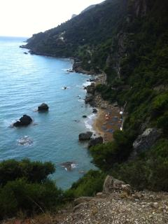 Mirtiotissa beach , view from above