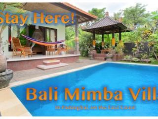 Bali's Magical East Coast Green House, Padangbai