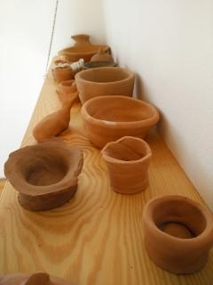 pottery made by guest
