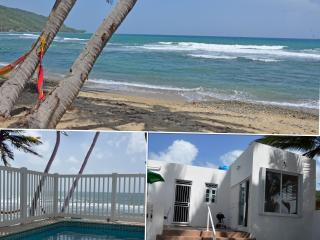 'Ocean Breezes' -Beach front with private pool, Patillas
