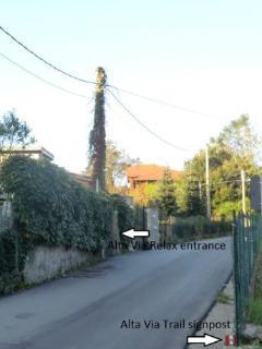 Alta Via dei Monti Liguri Route // Chemin d' Assise Route