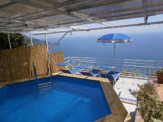 Casa Maria Teresa - seaview, WIFI, pool + parking, Praiano