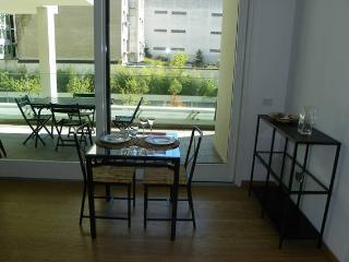 suite with terrace & private garage, Milán