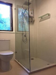 upstairs full bathroom 2 with stall shower
