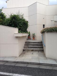 entrance way.
