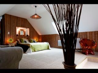 Chambres d'hôtes A l'orée du bois boisée avec SPA