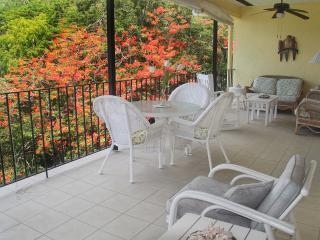 Each condo has a spacious balcony with great views.