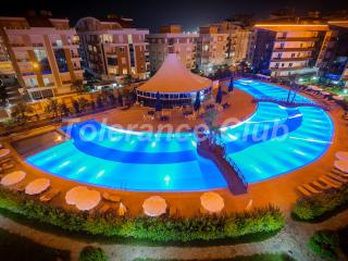Near to the beach luxury 1 bedroom apartments in Onkel Residence, Antalya