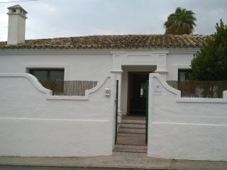 Villa vista exterior