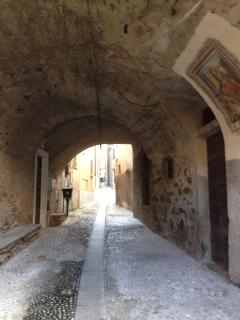 Part of the ancient borgo of Acquaseria - just around the corner