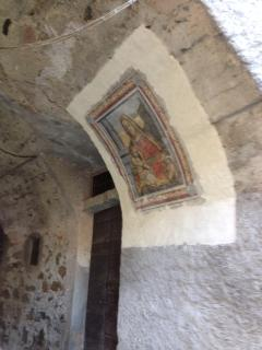 A religious fresco in Acquaseria
