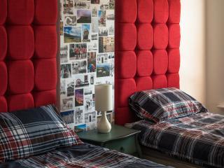 Twin singles in second double bedroom