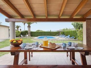 Villa Can Lluc.Vila de máxima tranquilidad.