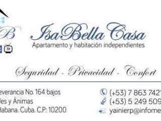 IsaBella CASA, Cuba