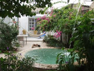 Charming house  with garden in center - Santiago, Merida