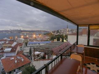 Bosphorus View Dream Terrace Duplex apartment in Üsküdar with WiFi, airconditioning & privéterras.…, Istambul
