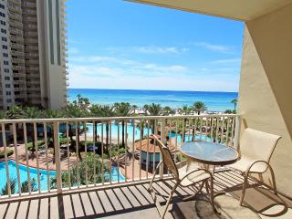 Shores of Panama 513-1BR+BunkRm*10%OFF Apr1-May26*GulfViews, Panama City Beach