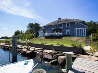KEEFJ - Historic Waterfront Home Located just 1 Mile from Oak Bluffs Center, Private Association Beach and Tennis, Private Dock