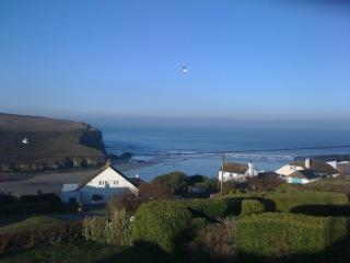 Ocean View located in Mawgan Porth, Cornwall, Trenance